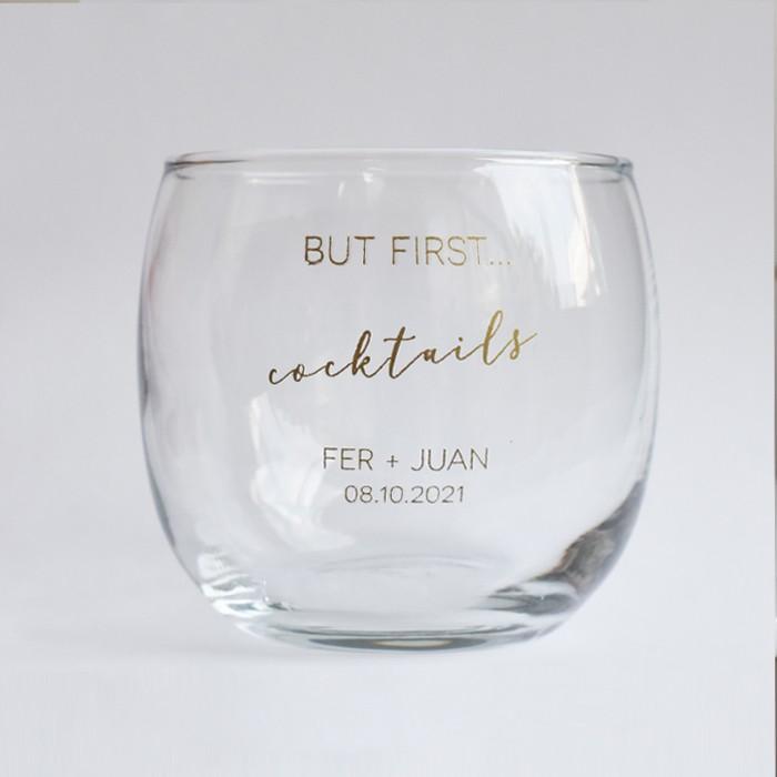 Vasos para cocteles personalizados Set de 25