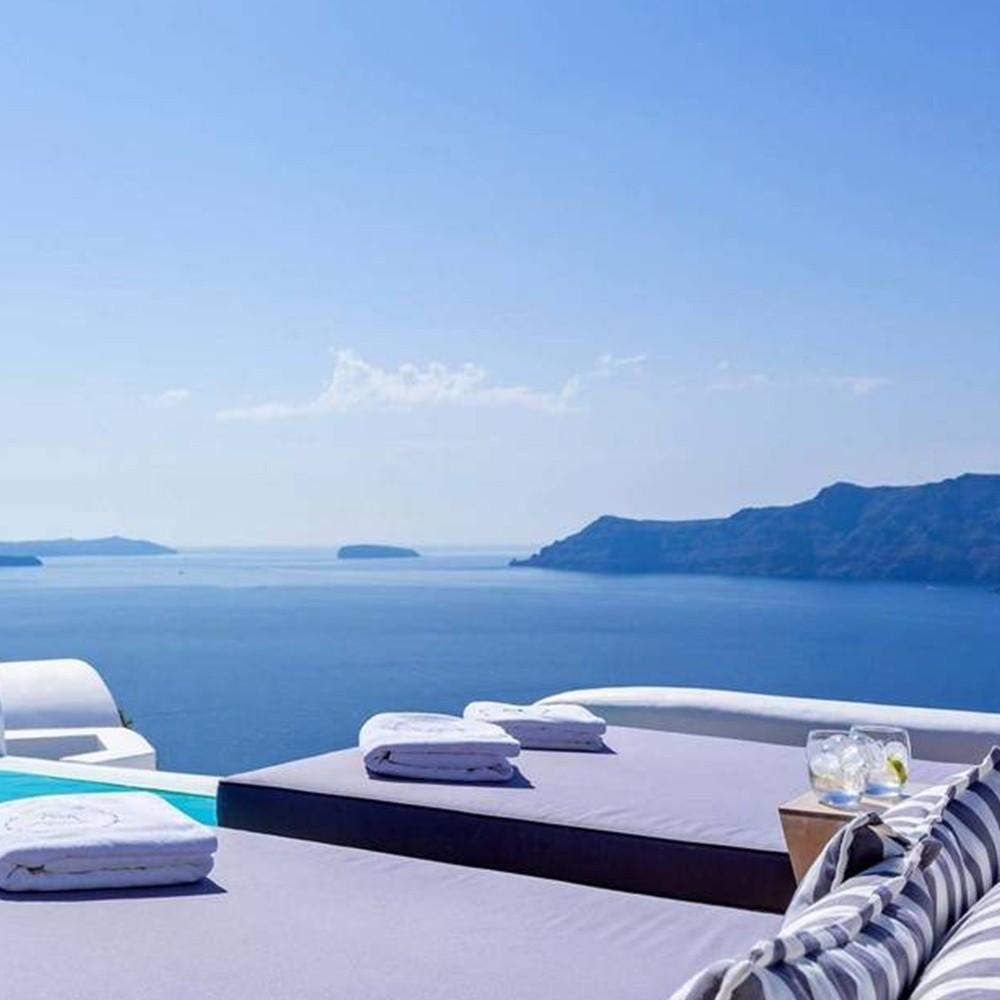 Relajación en pareja en Grecia