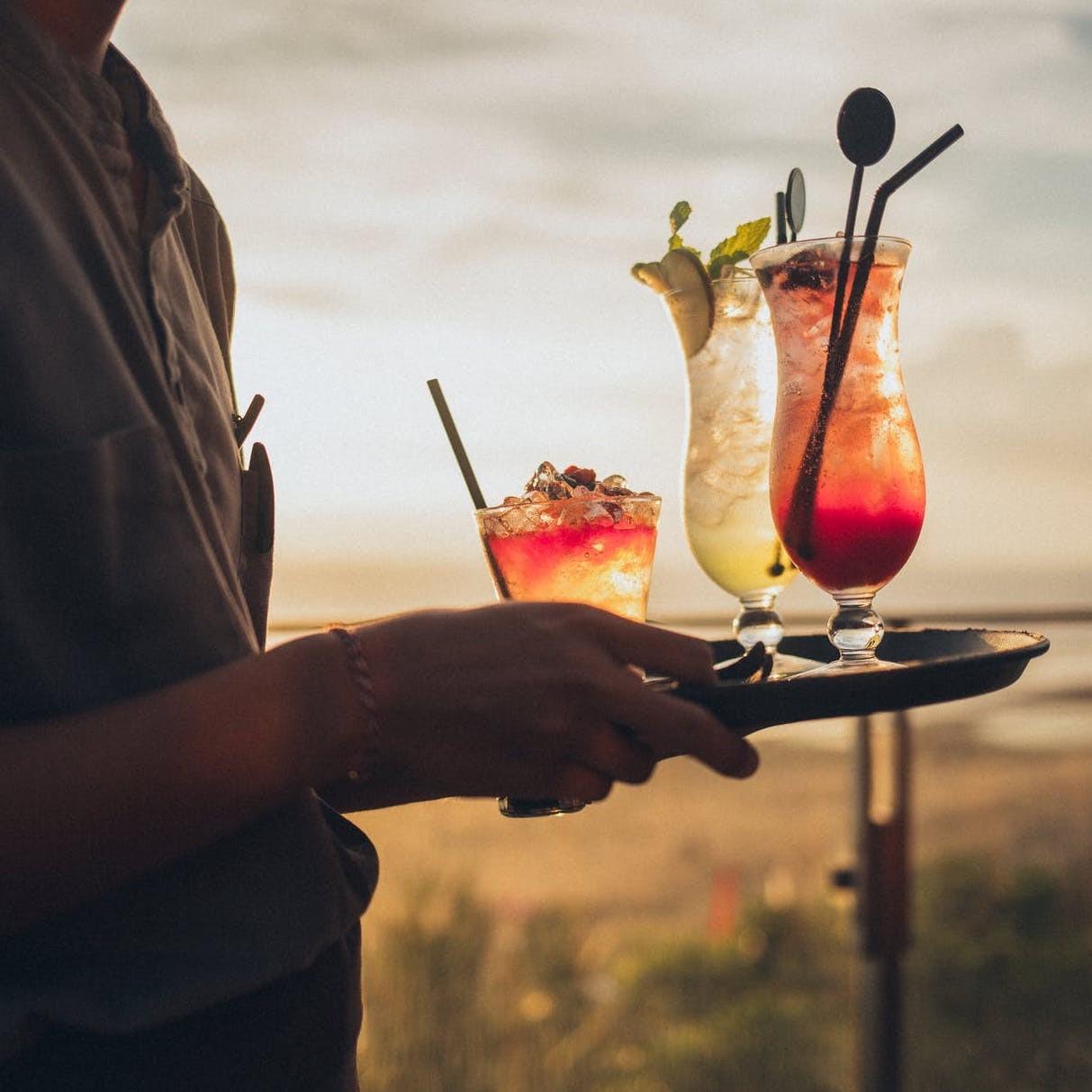 Drinks en la playa