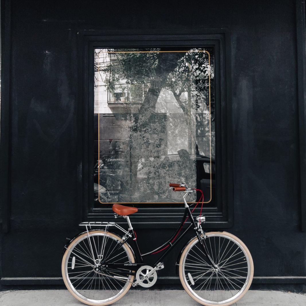 La Mil Amores Negra City Bike Women