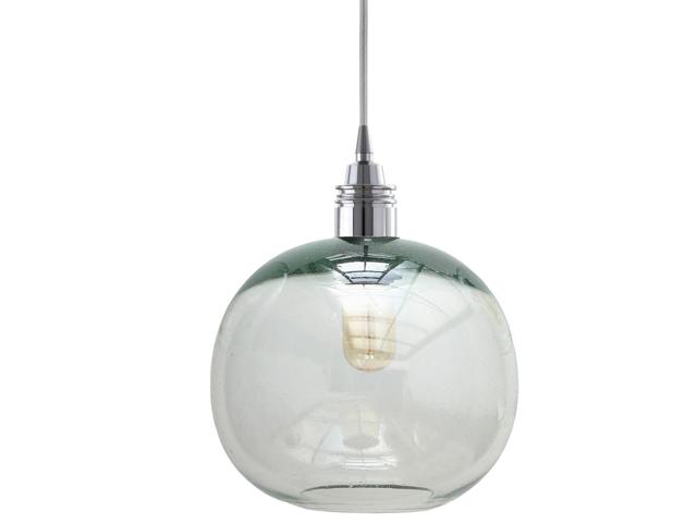Lámpara Cay Transparente Grande Cromo