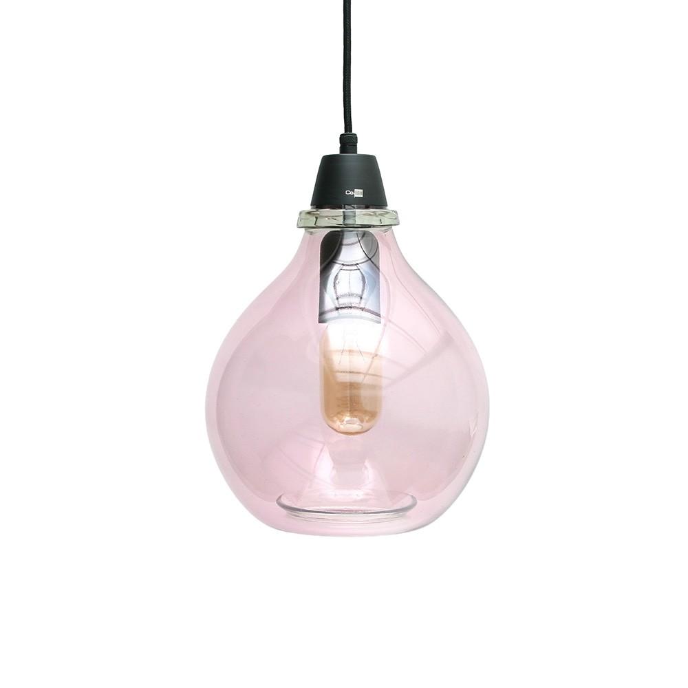 Lámpara Gota rosa
