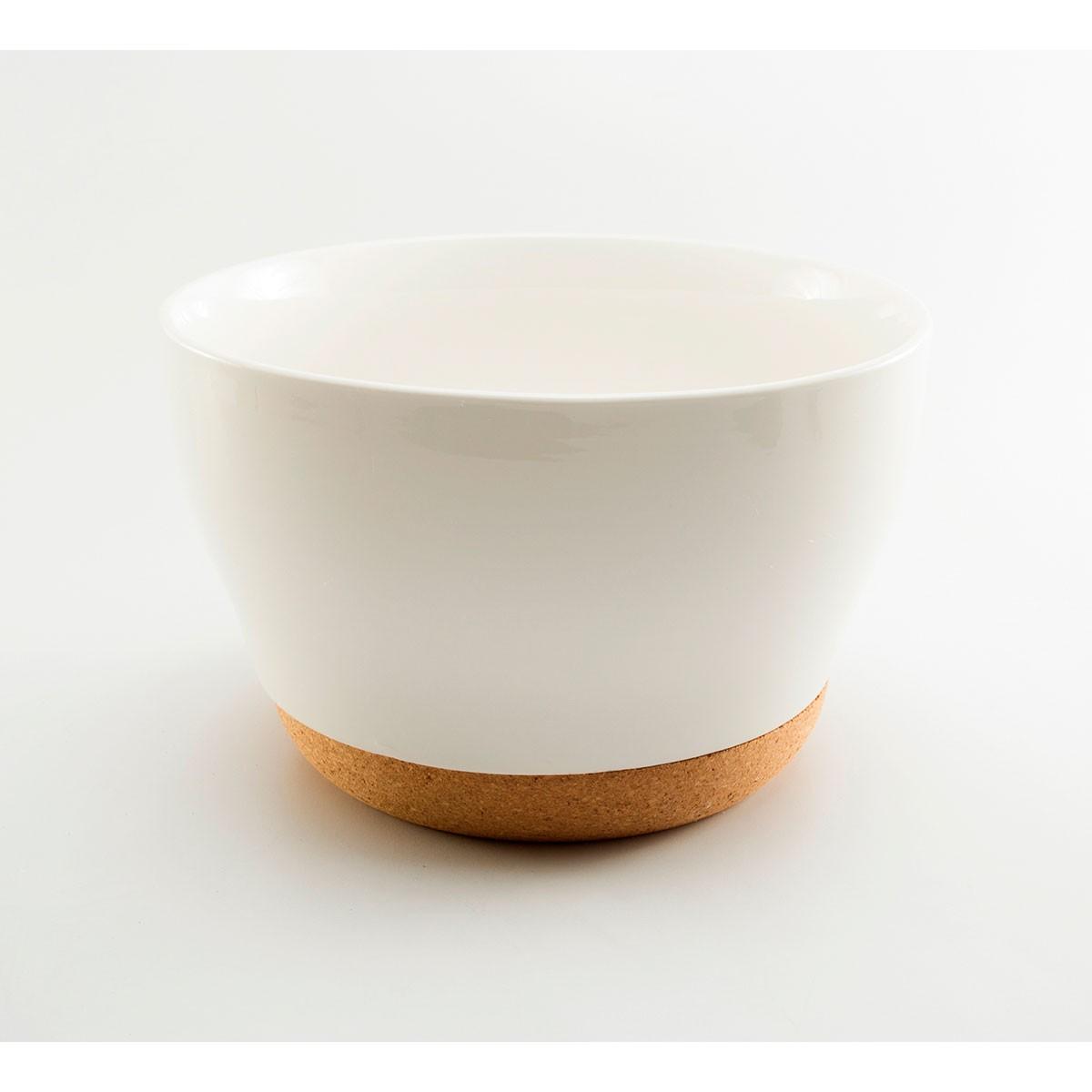 Bowl de porcelana con base