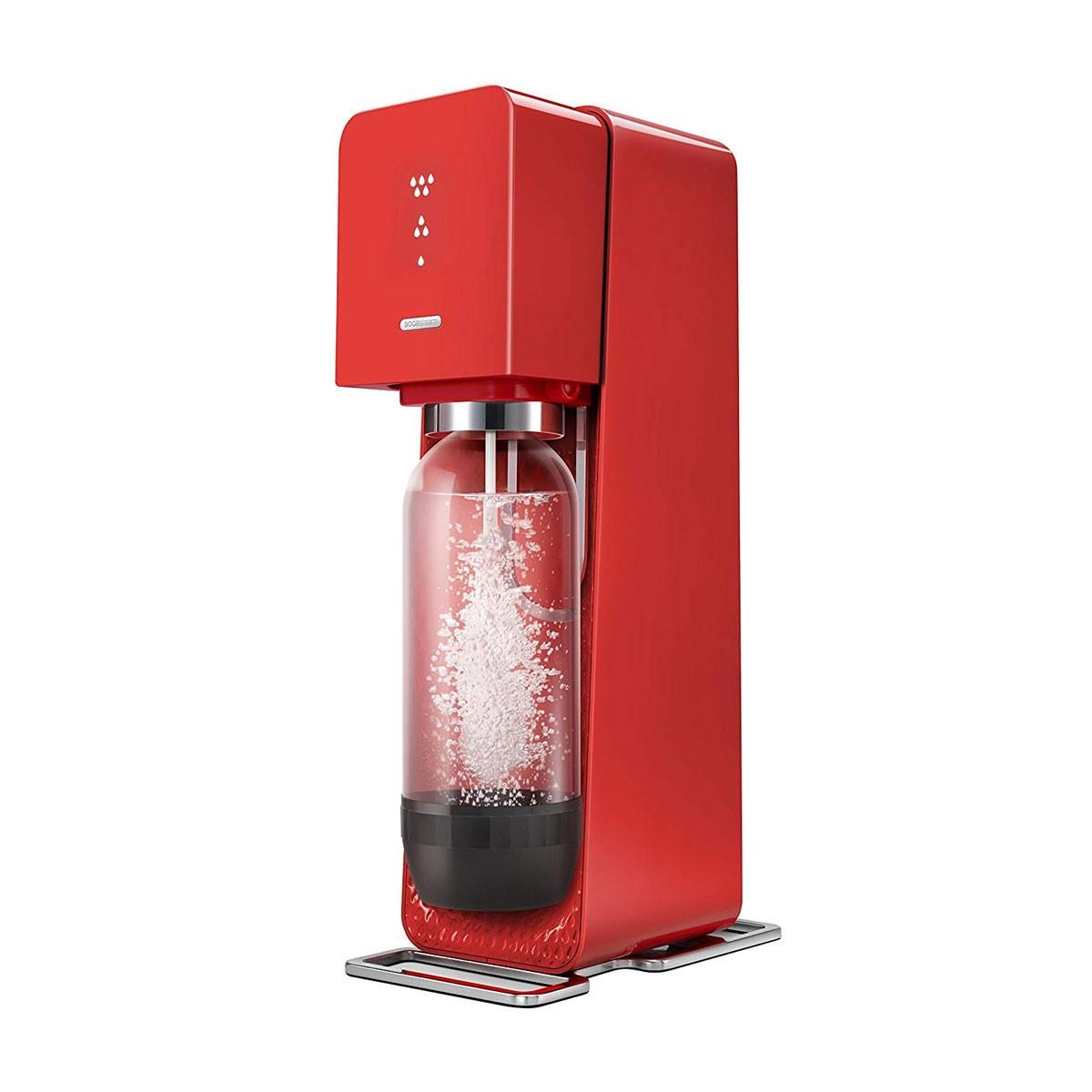 Máquina de soda Source roja