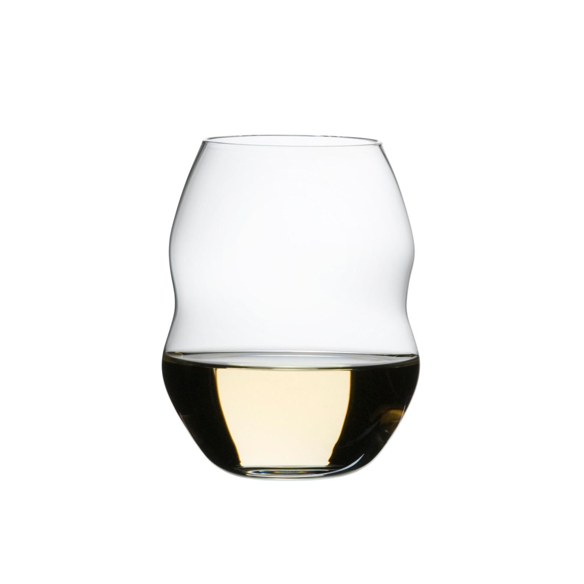 Vaso de Vino Swirl Blanco set de 12 SOLO DISPONIBLE EN CDMX