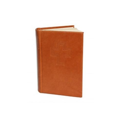 Biblia latinoamericana piel miel