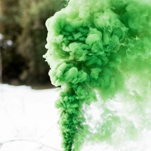 Bomba de humo verde set 5