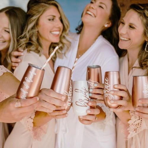 Termo champagne bachelorette 6 oz