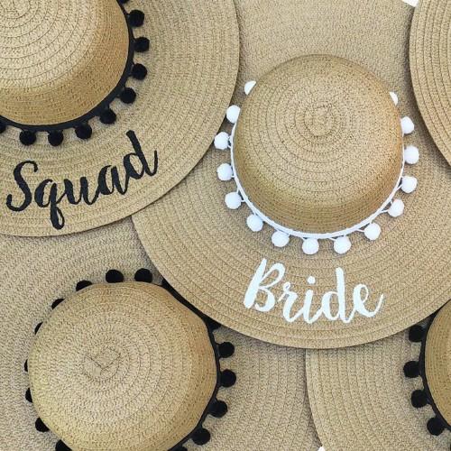 Sombreros playa bachelorette