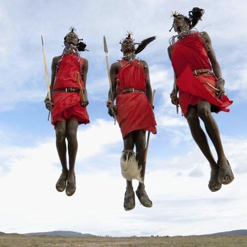 Visita a una villa Maasai