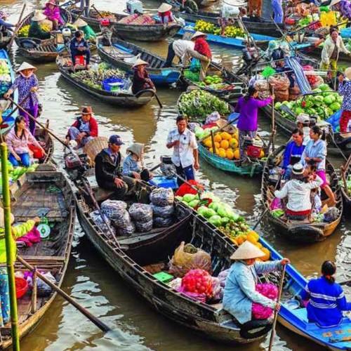 Visita a los mercados flotantes de Damnoen Saduak