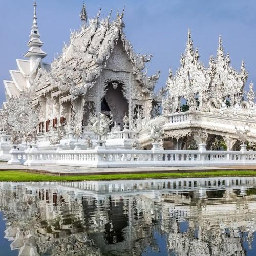 Visita el Templo Blanco, el Triángulo de Oro y Wat Para That Chedi Luang