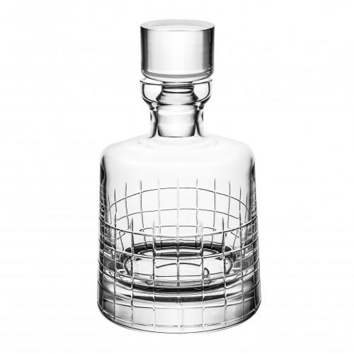 Decantador de Whisky Cristal Graphik