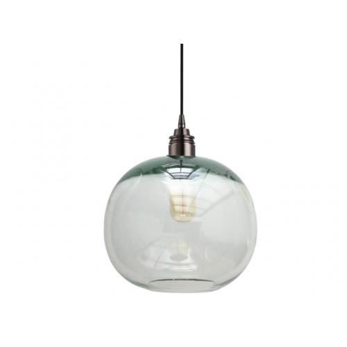 Lámpara Cay Transparente Grande Negro