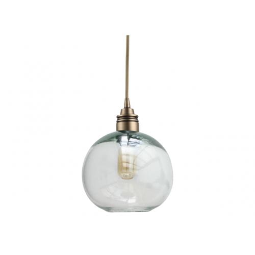 Lámpara Cay Transparente Mediano Bronce