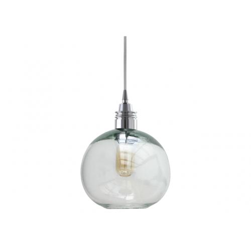 Lámpara Cay Transparente Mediano Cromo