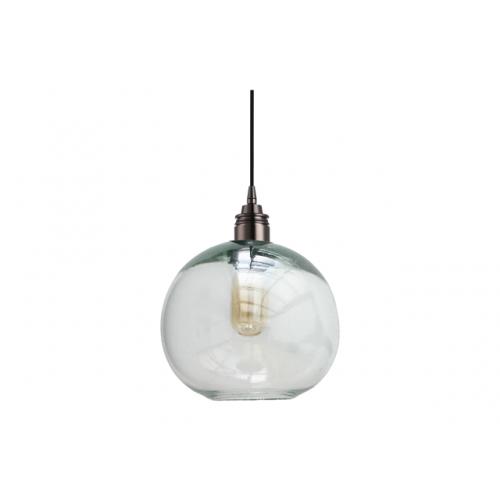 Lámpara Cay Transparente Mediano Negro