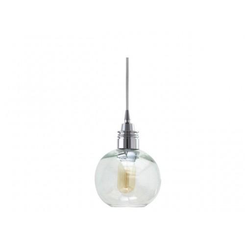 Lámpara Cay Transparente Chico Cromo