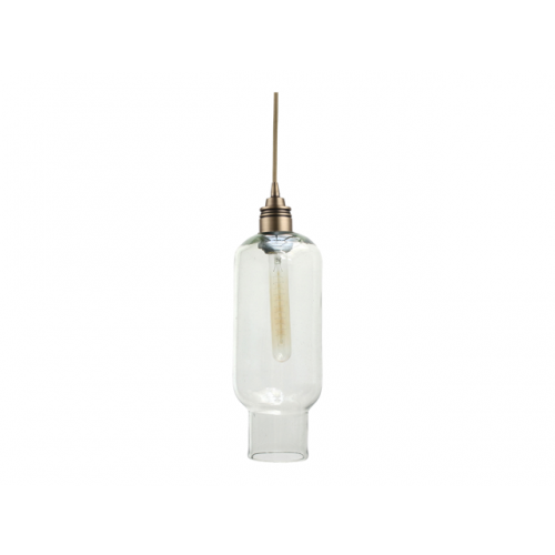 Lámpara Tulum Transparente Bronce