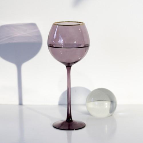 Set 4 copas cristal para vino Ensenada Higo