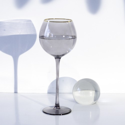 Set 4 copas cristal para vino Ensenada Piedra