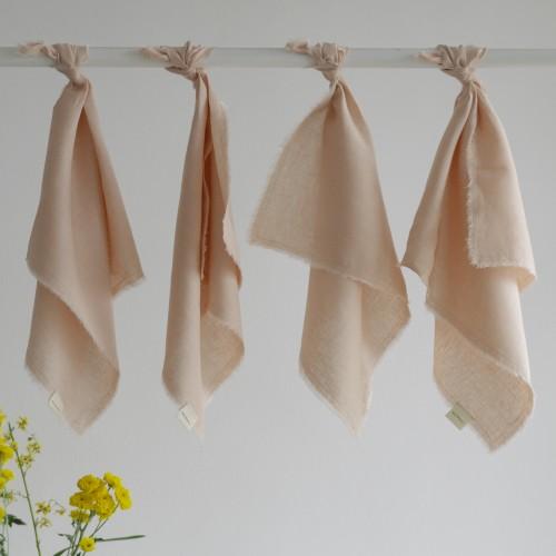 Set 4 servilletas lino Chetumal Dalia