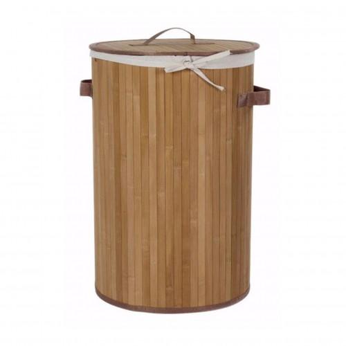 Cesto de Ropa Bambu Natural