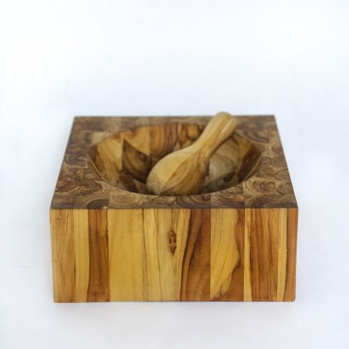 Olga mortero de madera
