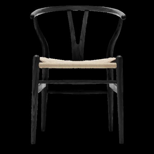 Silla Wishbone Negra