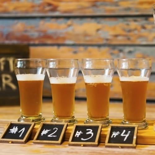 Cata de cervezas artesanales en tu casa