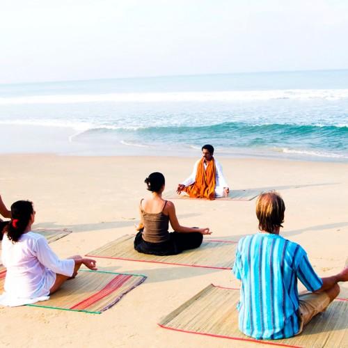 Yoga con familia o amigos