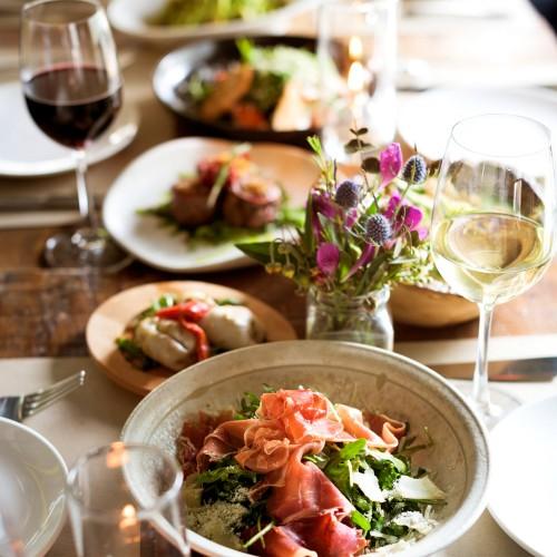 Cena Maridaje con Vinos Naturales en restaurante Amaya por el Chef Jair Téllez