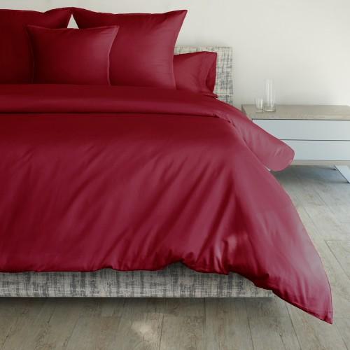 Duvet Individual Rojo 500 Hilos
