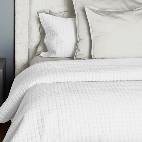 Colcha Individual Supreme Cotton Quilt Blanco