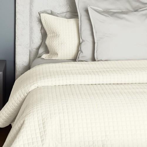 Colcha Individual Supreme Cotton Quilt Crudo