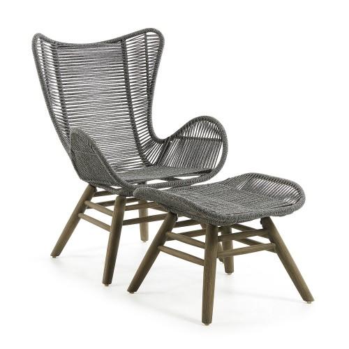 Katberg Silla Lounge Gris