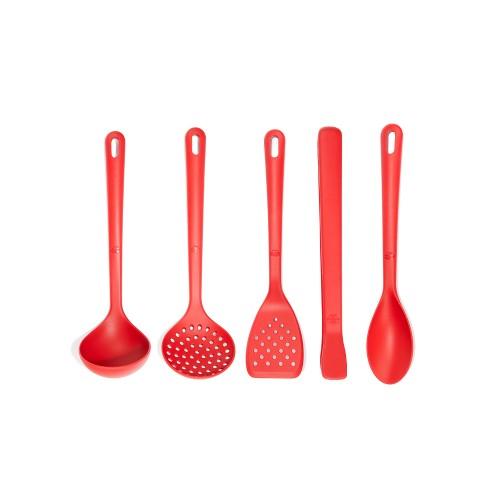 Set para Cocina, Colección Rosso, 6 piezas