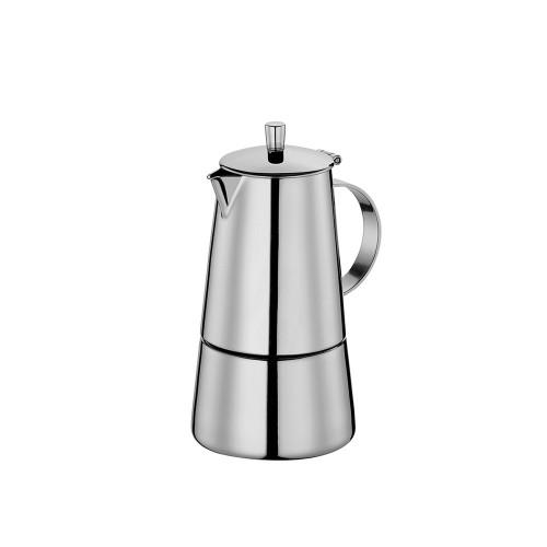 Cafetera para Espresso de Acero Inoxidable para 4 Tazas