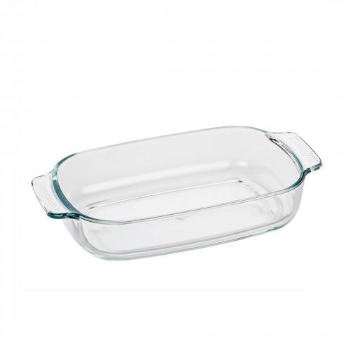 Refractario Rectangular de vidrio de Borosilicato de 29 cm
