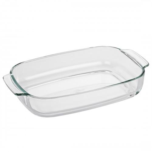 Refractario Rectangular de vidrio de Borosilicato de 38 cm