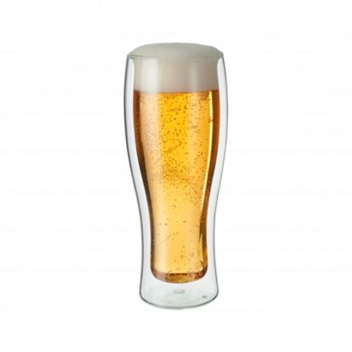 Set de 2 Vasos De Vidrio para Cerveza Sorrento