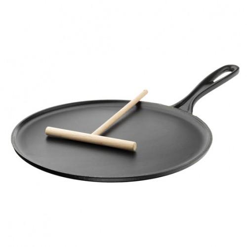 Le Creuset Crepera 27 cm - Negro Mate