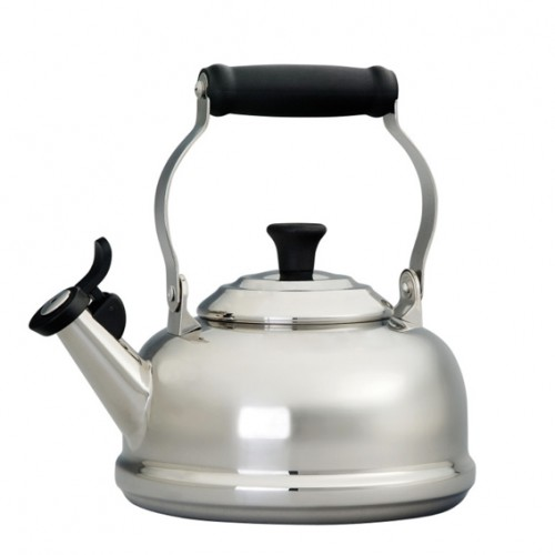 Le Creuset Whistling Kettle Acero Inoxidable 1.7 lt