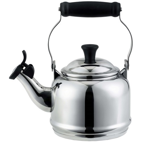 Le Creuset Whistling Kettle Acero Inoxidable 1.2 lt