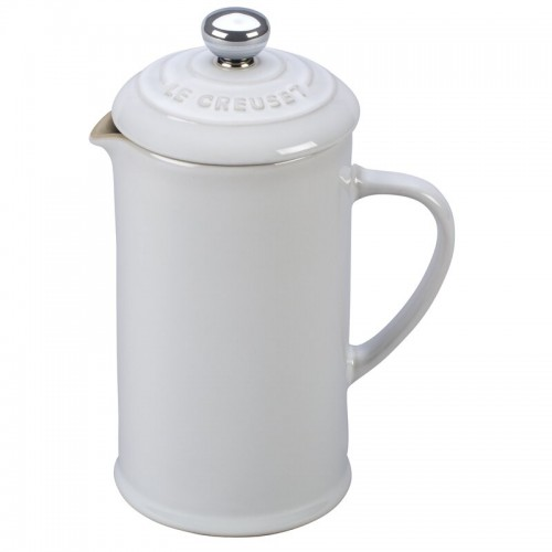 Le Creuset French Press 800 ml Blanca