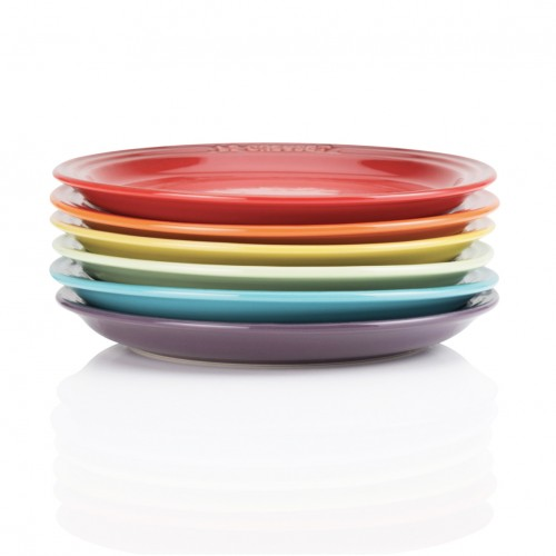 Le Creuset Set De 6 Platos Rainbow