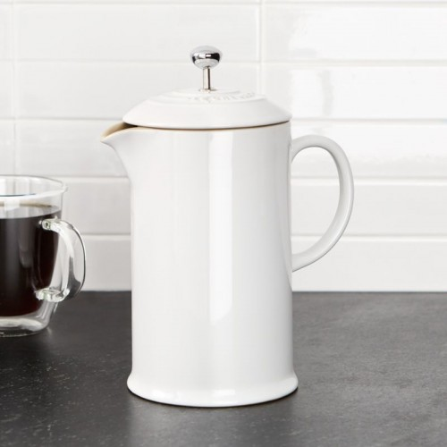 Le Creuset French Press Chica Blanca