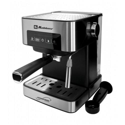 Cafetera 2 tazas expresso cappuccino acero inox