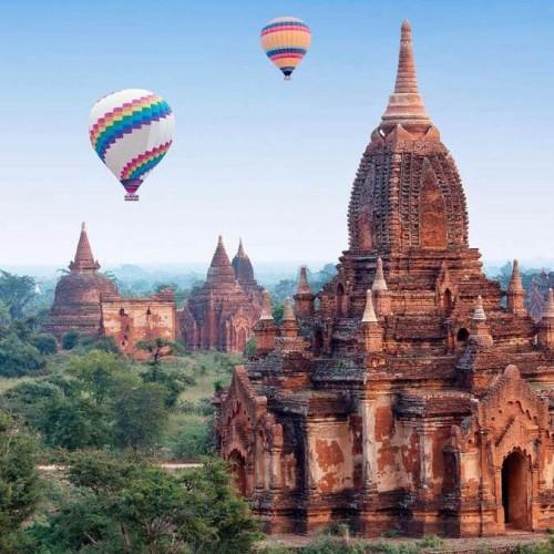 Bagan en Bici