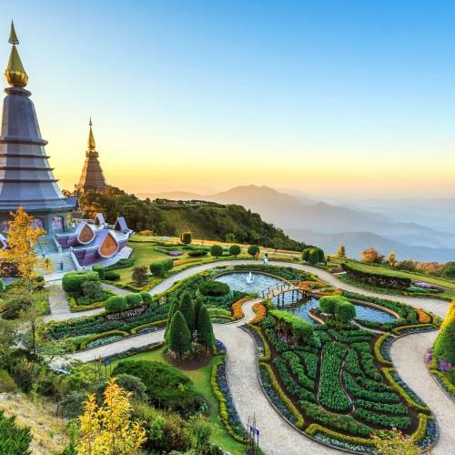 Merccados y Templos de Chiang Mai